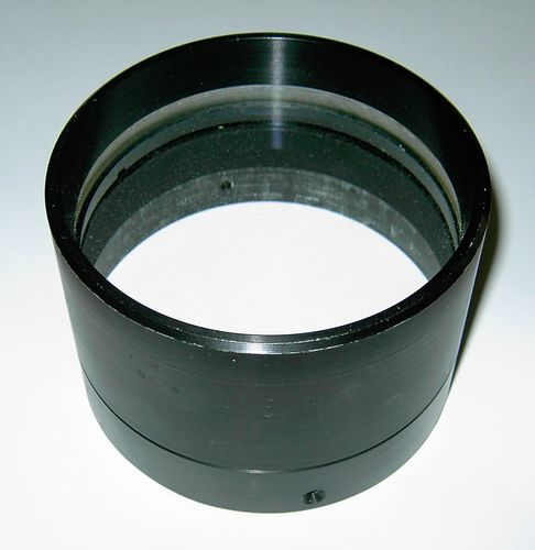 Top View - Gary Barabino's A. Jaeger's 102mm f/8.6 Cemented Objective... Click for an enlarged view!